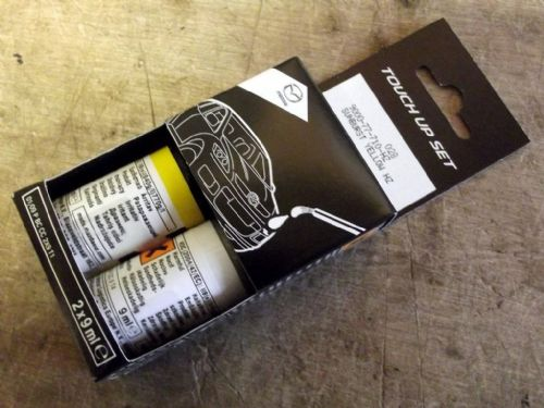 Paint touch up kit, genuine Mazda, HZ Sunburst Yellow